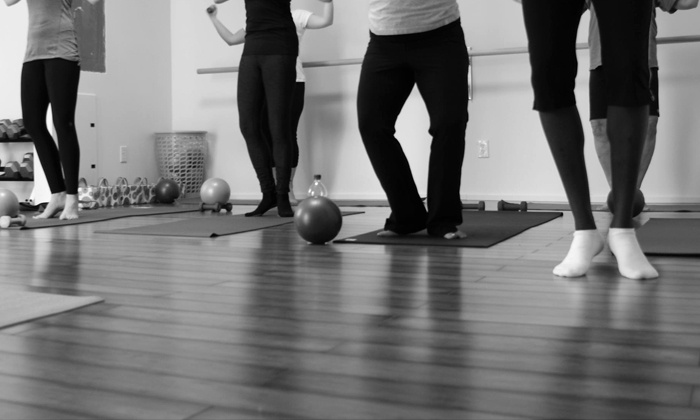 Range of Motion Fitness, LLC - Old Town Manchester: 5 or 10 Barre-Fitness Classes at Range of Motion Fitness, LLC (Up to 61% Off)