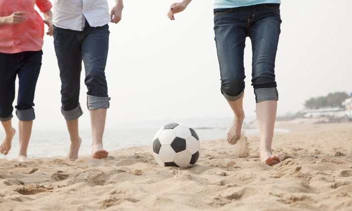 PNV SPORTS LLC - North Jersey: $462 for $840 Worth of Beach Soccer — PNV SPORTS LLC