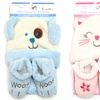 Sweet and Soft Infant Hat and Bootie Set