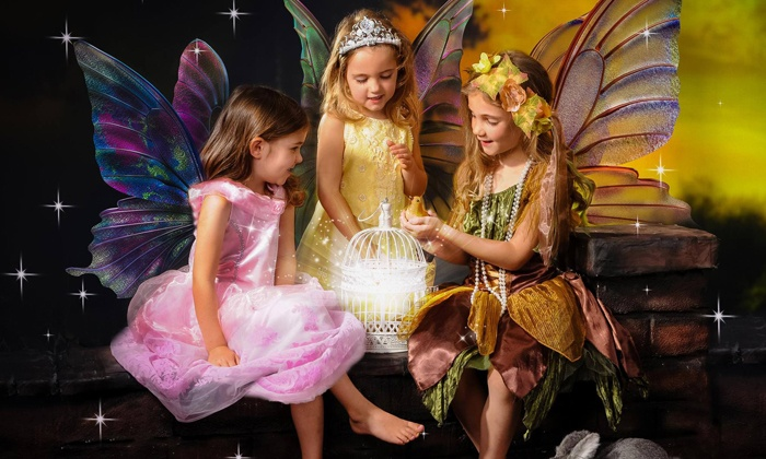 Jassal Art Gallery - Edmonds: Enchanted Fairy Photo Session for One, Two, Three, or Four or More at Jassal Art Gallery (Up to 81% Off)