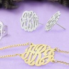 Monogrammed Sterling-Silver Jewelry