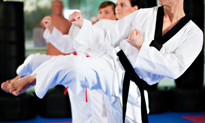National Martial Arts - South Oklahoma City: One Month of Unlimited Martial-Arts Classes or Birthday Party for Up to 25 Kids at National Martial Arts (Up to 67% Off)