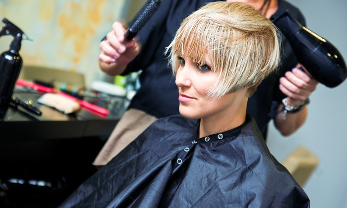 Madison Salon - West Newport Beach:  for a Relaxing Shampoo, Haircut, Custom Deep Conditioning Treatment and Blow Dry at Madison Salon ( Value)
