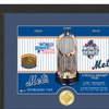 New York Mets 2015 MLB World Series Champs Trophy Bronze Coin Photo Mint