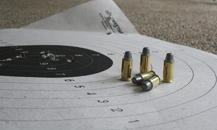 Shooting-Range Package for Two or One-Month or One-Year Membership at Hi-Caliber Firearms (Up to 58% Off)