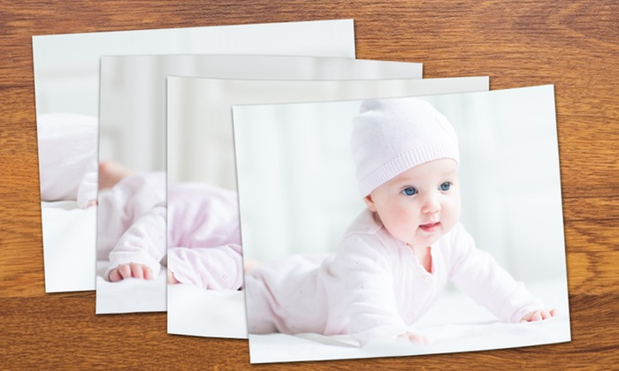 "MailPix: Four, Six, or Eight 8""x10"" Prints from MailPix (Up to 55% Off)"