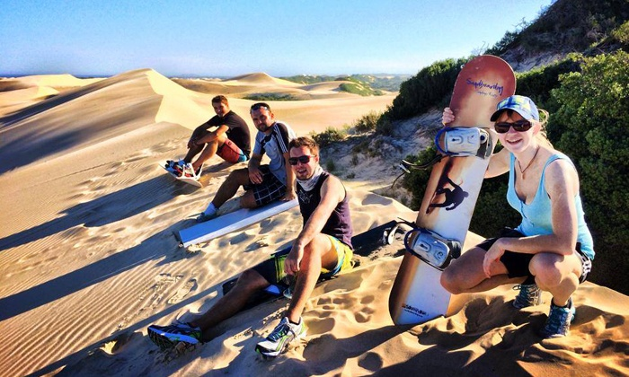 Sandboarding Sunday's River - Port Elizabeth: Sandboarding with Sandboarding Sunday's River