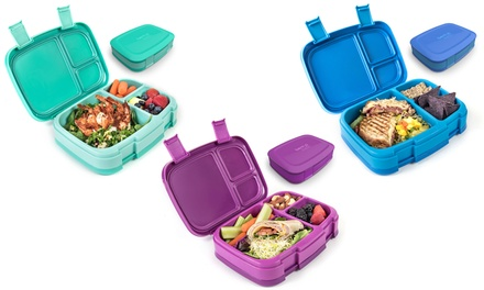Bentgo Leak-Proof Lunch Box with 4 Compartments