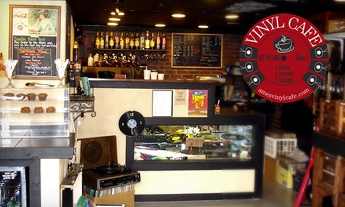Vinyl Cafe - Downtown Ames: $10 for $20 Worth of Records and Coffee at Vinyl Cafe