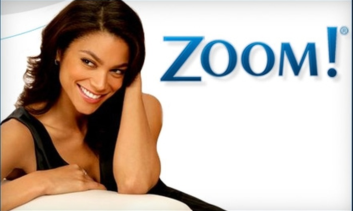 Zoom! Teeth-Whitening - Multiple Locations: $185 for One Zoom! Teeth Whitening (Up to $650 Value). Choose One of Three Locations.