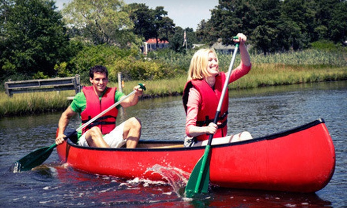 Hocking Valley Canoe Livery and Fun Center - Multiple Locations: $25 for Canoeing or Kayaking and Mini Golf for Two from Hocking Valley Canoe Livery and Fun Center (Up to $54 Value)