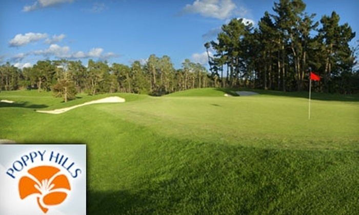 Poppy Hills Golf Course - Seaside-Monterey: $80 for 18 Holes of Golf at Poppy Hills in Pebble Beach and an Introductory NCGA Membership (Up to $236 Value)