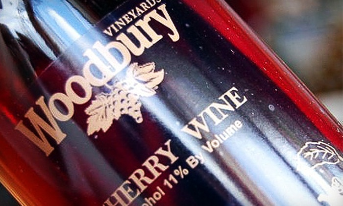 Woodbury Vineyards - Fredonia: $6 for $12 Worth of Wine Plus a Complimentary Tour at Woodbury Vineyards in Fredonia