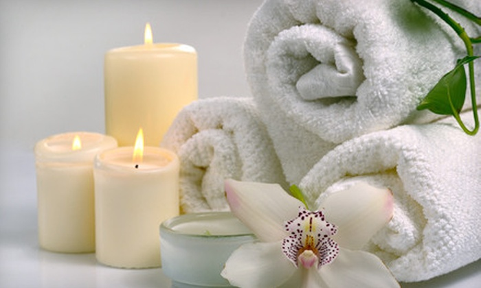 Mia's Day Spa - Matheson Park: Body Wrap or Massage or Body-Scrub Package at Mia's Day Spa (Up to 53% Off)