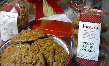 Tonya's Cookies: 1-Pound Bag of Cookies - Tonya's Cookies in