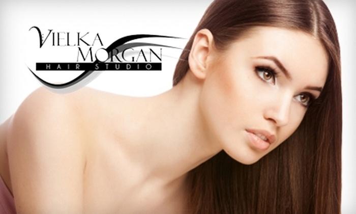 Vielka Morgan Hair Studio - Petersburg: $175 for Formaldehyde-Free Keratin Hair Treatment at Vielka Morgan Hair Studio in Petersburg ($350 Value)