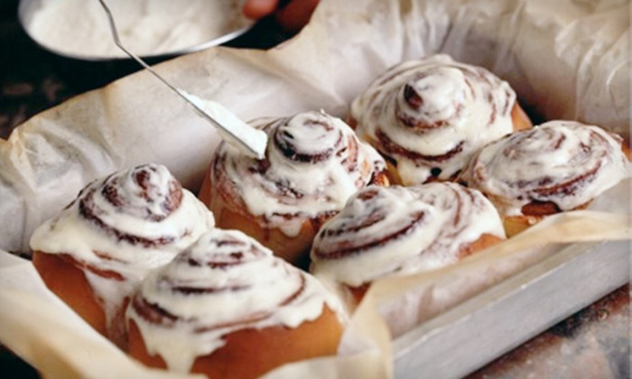 Cinnabon - Multiple Locations: $15 for Two Large Cinnapacks (12 Classics or 30 Minibons) ($30 Value)