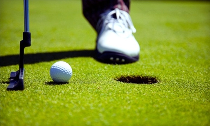 Woodbine Golf Course - Homer Glen: $52 for a Round of Golf With Cart for Two at Woodbine Golf Course in Homer Glen (Up to $118 Value)