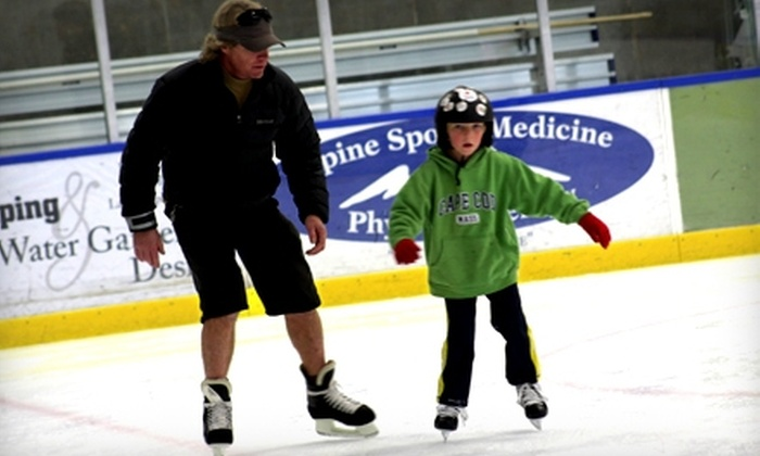 Park City Ice Arena - Park City: $13 for Ice Skating for Two and Two Pairs of Rental Skates at Park City Ice Arena (Up to $26 Value)