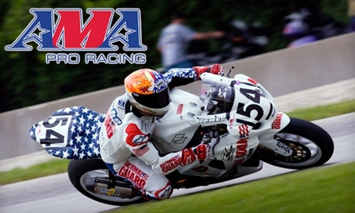American Motorcyclist Association Superbike Championship - Leeds: $65 for Two Tickets for Three-Day Admission and Paddock Access to the AMA Pro Superbike Championship on Sept. 24–26
