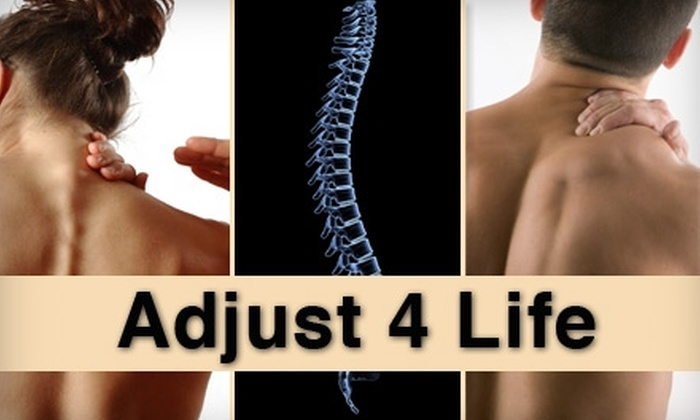 Adjust 4 Life - Lee's Summit: $40 for a Consultation, Exam, Adjustment, and 30-Minute Massage at Adjust 4 Life ($210 Value)
