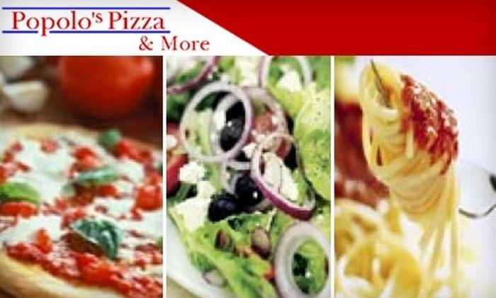 Popolo's Pizza - Bullard: $10 for $20 Worth of Pizza, Italian Fare, and Drinks at Popolo's Pizza