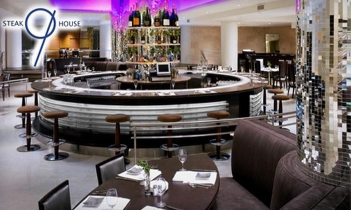 N9NE Steakhouse - West Loop: $25 for $50 Toward Dinner at N9NE Steakhouse in Chicago