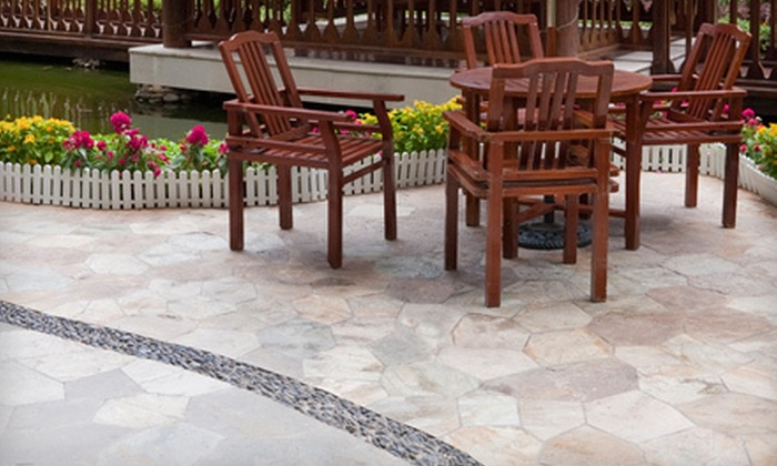 Duke's Tree & Landscape - Colonial Estates: $2,999 for Flagstone Patio Installation from Duke's Tree & Landscape ($6,000 Value)