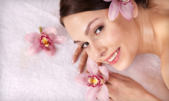 Heavenly Hands Salon - Northeast Salem: $45 for Two-Hour Pampering Package with Massage, Manicure, and Pedicure at Heavenly Hands Salon ($95 Value)