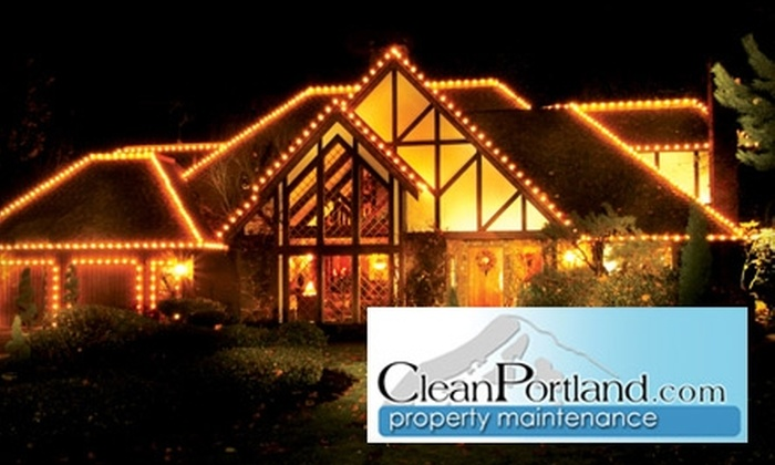 Clean Portland - Central Beaverton: $75 for $175 Worth of Holiday Light-Hanging or $75 for $150 Worth of Other Household Services from CleanPortland.com