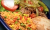 Taqueria Maya - Cincinnati: Mexican Meal with Guacamole, Entrees, and Drinks for Two, or $5 for $10 Worth of Mexican Fare at Taqueria Maya