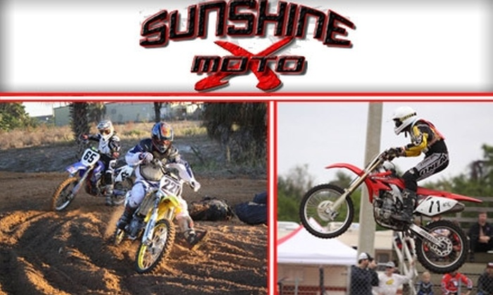 Sunshine Motocross - Pinellas Park: $5 for Admission, a Hot Dog, and Fries at Sunshine Motocross ($10 Value)