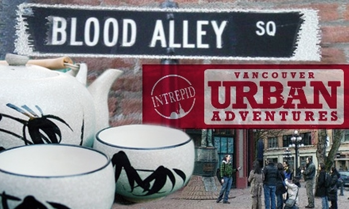 Vancouver Urban Adventures - Downtown Eastside: $12 for a Walking/Tasting Tour of Gastown and Chinatown from Vancouver Urban Adventures
