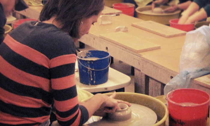 Fired Up Studios - Como: $75 for a Clay Date Pottery Class for Two at Fired Up Studios ($150 Value)