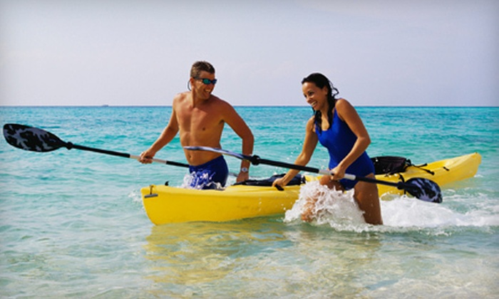 On the Beach Watersports - Fort Lauderdale: $20 for a Four-Hour Kayak Rental for Two from On the Beach Watersports in Pompano Beach ($60 Value)