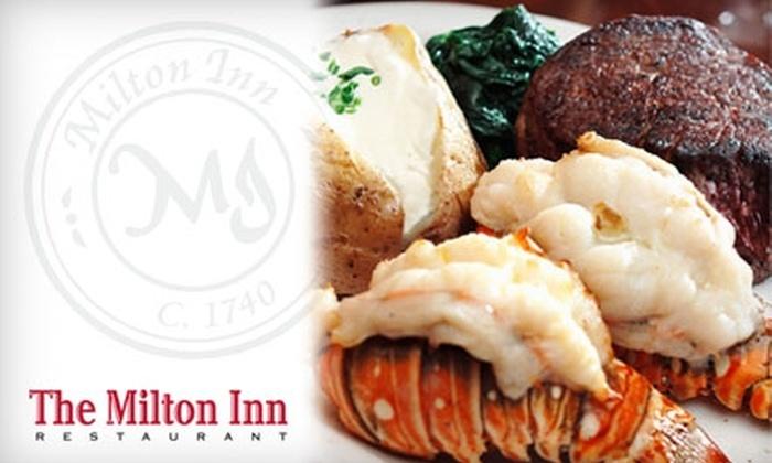 The Milton Inn Restaurant - 8: $30 for $65 Worth of Fine Wines and Gourmet Dishes at The Milton Inn Restaurant