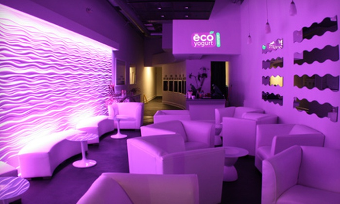 Eco Yogurt Lounge - Multiple Locations: $5 for $10 Worth of Frozen Yogurt at Eco Yogurt Lounge
