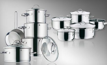 Provence Plus Nine-Piece Cookware Set (a $400 value) - Stainless Steel Nine-Piece Cookware Set in