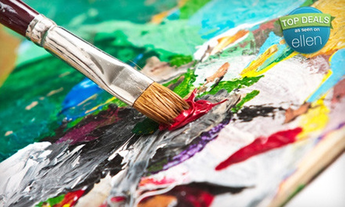 Juiced on Imagination - Downtown Fort Collins: Two-Hour BYOB Adult Painting Class for One, Two, or Four at Juiced on Imagination in Fort Collins (Up to 60% Off)
