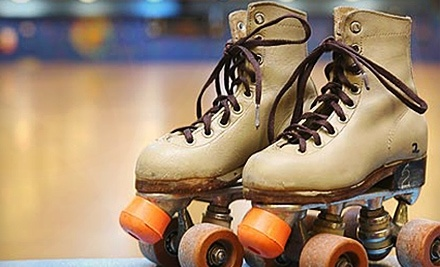 Roller King: 1 Admission, a Regular Skate Rental, and Your Choice of a Slice of Pizza or a Hot Dog - Roller King in Roseville