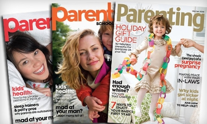 "Parenting Magazine - Upper East Side: Subscription to ""Parenting Early Years"" or ""Parenting School Years."" Two Options Available."