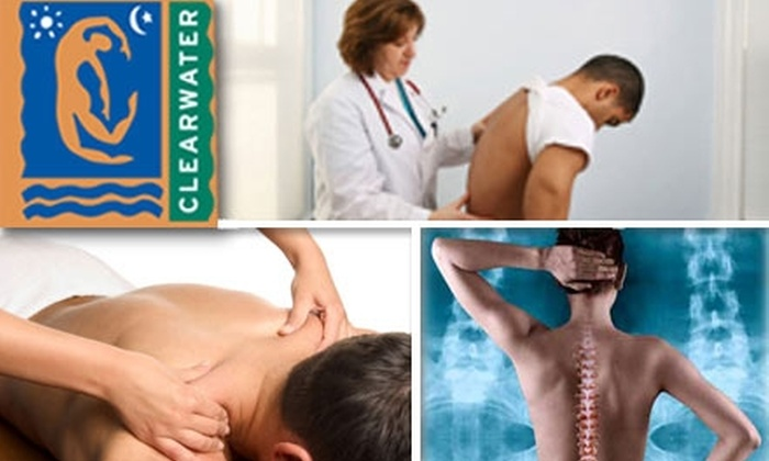 Clearwater Clinic - Downtown: $60 Chiropractic Exam, Treatment, and 30-Minute Sports Massage at Clearwater Clinic
