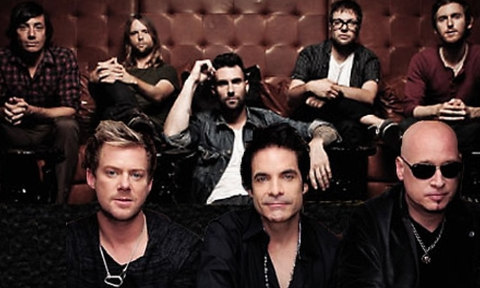 Maroon 5 and Train at Gexa Energy Pavilion - South Dallas: $14 for One Ticket to See Maroon 5 and Train at the Gexa Energy Pavilion on Friday, September 23, at 7:30 p.m. (Up to $27.58 Value)