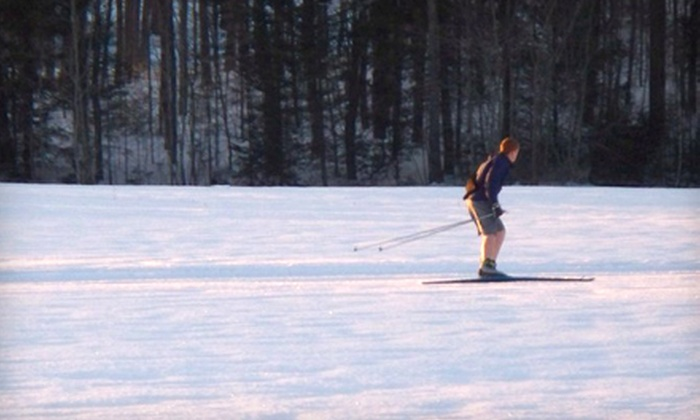 Harris Farm - Harris Farm: Cross-Country-Ski Outing with Trail Admission and Ski Rental for Two or Four at Harris Farm in Dayton (Up to 51% Off)