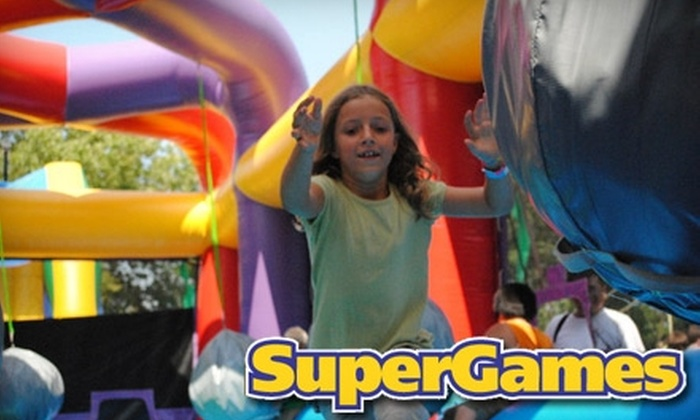 SuperGames - Worthington Village North: $15 for Five-Visit Punch Card to Indoor Open-Play Area at SuperGames