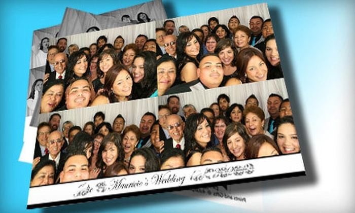 4 Star Photobooth - Multiple Locations: $695 for a Six-Hour Photo-Booth Rental from 4 Star Photobooth ($1,395 Value)