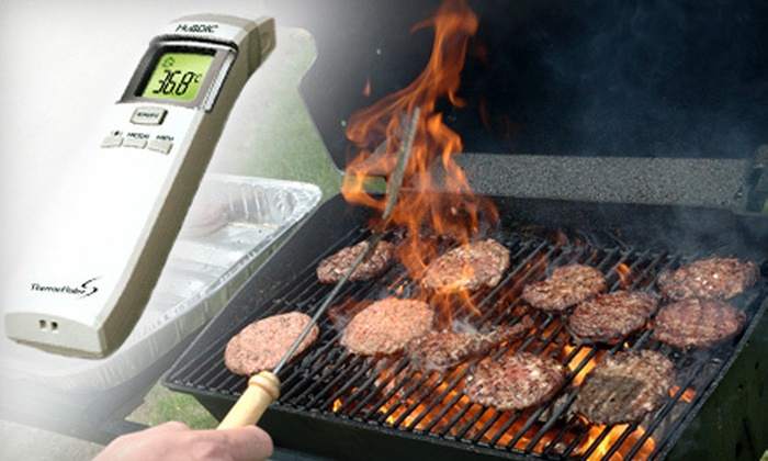 No-Contact Infrared Thermometer: $69 for a HuBDIC No-contact Infrared Thermometer from Green Dolphin Home ($169.40 Value, including HST)