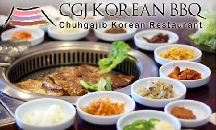 Chuhgajib Korean Restaurant - North Mountain: $10 for $20 Worth of Barbecue Fare and Beverages at Chuhgajib Korean Restaurant in Glendale
