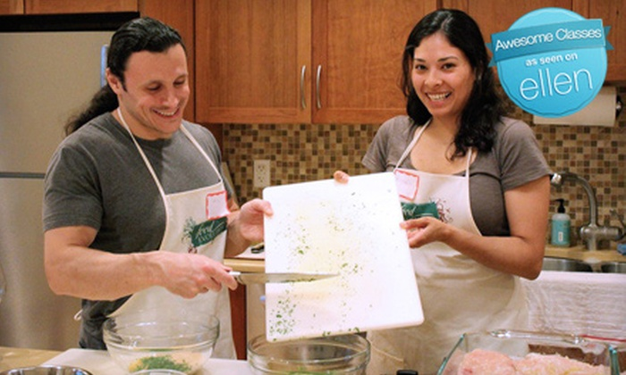 The Food Evolution - Bardonia: Individual or Couples Cooking Class at The Food Evolution in Nanuet