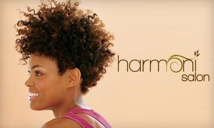 Harmoni Salon - Hollywood Park: Hair Treatments at Harmoni Salon. Choose from Four Options.
